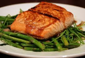 salmon in oven